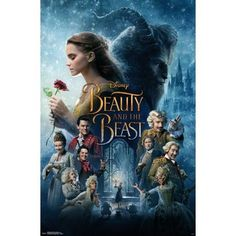Trends International Beauty & The Beast One Sheet Wall Poster 22.375 inch x 34 inch, Multicolor