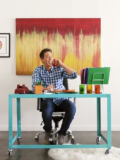 Who better to talk color and paint with than David Bromstad, the hue master himself. #hgtvmagazine http://www.hgtv.com/color/color-consultation-with-david-bromstad/index.html?soc=pinterest
