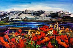 There's Freedom Here, oil landscape painting by Kimberly Kiel | Effusion Art Gallery + Cast Glass Studio, Invermere BC Sky Painting, Painting For Kids, Dance Paintings, Landscape Paintings, Modern Art, Contemporary Art, Wedding Painting, Cast Glass, Mountain Paintings