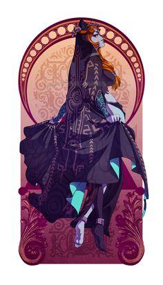 Legend of Zelda: Midna by *messa on deviantART