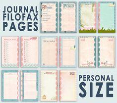 Lucy-Wonderland: Journal pages per la Filofax