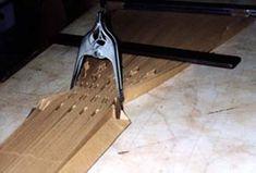 Le PLISSAGE :Fabrication des moules Pietro Seminelli