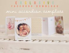 New Facebook exclusive download now available from Corina Nielsen Photography & Designs!  Cute little mini accordion wallet template perfect for client gifts or as a promotional item!  http://www.facebook.com/pages/Corina-Nielsen-Photography/77486035942