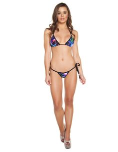 Tie Side Low Rise Bikini Set