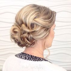 Hairstyles For Mother Of The Bride Delectable Hairstyles For Mother Of The Bride Over 50  Borbotta  Updos