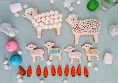Bunte Osterplätzchen! Идеи для декорации печенья для Пасхи! #ostern #cookies #kids #пасха #дети Bunt, Mother's Day, Easter, Dekoration, Ideas
