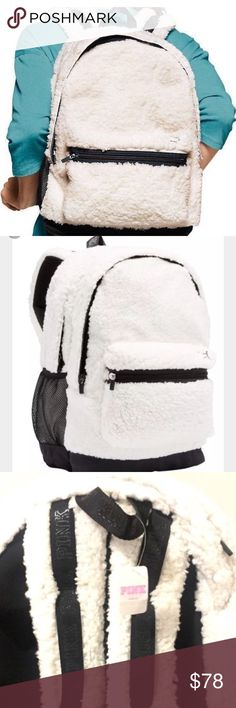 MENS VS SHERPA WHITE BACKPACK NWT soldout VS SHERPA WHITE BACKPACK NWT-soldout@stores/onL-$68.19RETAIL VVictoria's Secret Pink Brand,UNISEX,any age,2016styleAuthentic. Purchased@VS@Mall.This is the latest hottest thing they say that all the kids  have2have@school. No longer being stocked.Super hot.Nothing you've ever seen b4.LooksEvenCoolerInperson.Get it now. When gone they r gone.1style backpack u wouldNOTwant2purchase2nd hand.i ship discreetlyquickly.GREAT ValDAyGIFT1 pack eachlisted…