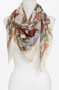 Lulu Print Scarf available at Nordstrom