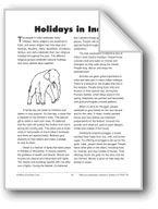 Holidays in India. Download it at Examville.com - The Education Marketplace. #scholastic #kidsbooks @Karen Echols #teachers #teaching #elementaryschools #teachercreated #ebooks #books #education #classrooms #commoncore #examville