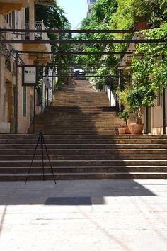 Saint Nicholas stairs, Achrafieh // Escalier saint-nicolas beyrouth ◆Lebanon - Wikipedia http://en.wikipedia.org/wiki/Lebanon #Lebanon