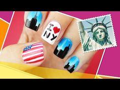 St. John's, Canada Inspired Nail Art ∞ The World At Your Fingertips w/ cutepolish - YouTube