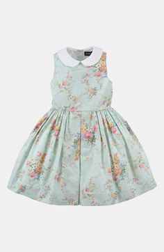 Ralph Lauren Floral Dress (Toddler)   Nordstrom
