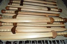 Wooden Gladius Swords.  Rudis.   Great gifts for the kids or for practicing or for re-enactments.