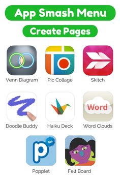 Zig Zagging : App Smashing Menus for publishing book projects #ipaded #appsmash4