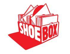 """Shoebox"" record label logo. Can't wait til I have my own."