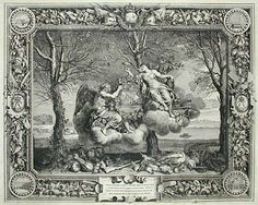 The Seasons: Winter, engraving after Charles LeBrun