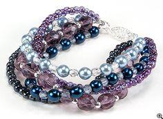 Jewelry Making Idea: Magestic Dreams Bracelet (eebeads.com)