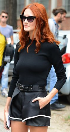 Taylor Tomasi Hill. It took me a while to figure out why I loved her so - her flawless shoe choices.