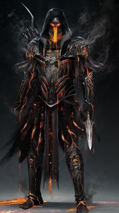 Dark Fantasy Art - Trend in 2020 Dark Fantasy Art, Foto Fantasy, Fantasy Armor, Fantasy Creatures, Mythical Creatures, Fantasy Character Design, Character Art, Character Concept, Arte Assassins Creed