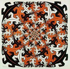 M.C. Escher's tesselation