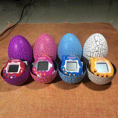 $10.77 - Nice Dinosaur Egg Tumbler Virtual Cyber Digital Pets Electronic Digital E-pet Retro Funny Toy Handheld Game pet Machine Tamagochi Toy - Buy it Now!