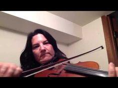 Day 191 - Smoky Island Breakdown - Patti Kusturok's 365 Days of Fiddle Tunes - YouTube
