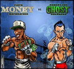 Mayweather vs Guerrero | Saturday night (May 4, 2013)