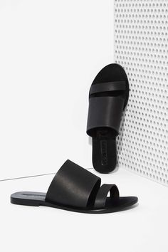 Sol Sana Betty Leather Slide Sandal