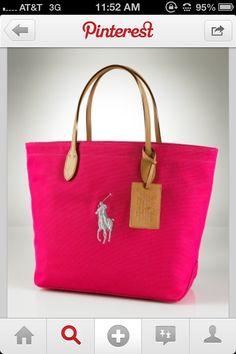 Pink Ralph Lauren Polo bag Ralph Lauren Bags 5789128228dc4