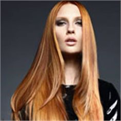 SHINY PENNY: Goldwell Copper Color Formula and Kerasilk How To - Inspiration - Modern Salon
