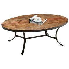 Found it at Wayfair - Ceres Oval Coffee Table