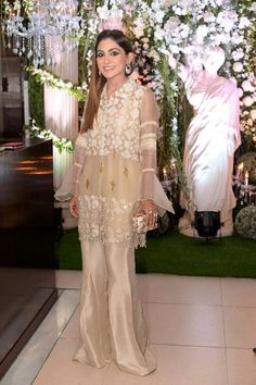 Luxury Pret organza Indian/pakistani formal shalwar kameez