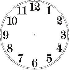 Image result for clocks clipart