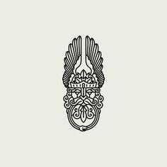 Daniel Führer Design-I really only like the one pictured. Business Logo Design, Graphic Design Branding, Graphic Design Art, Graphic Design Illustration, Illustration Art, Typography Logo, Logo Branding, Typography Design, Brand Identity
