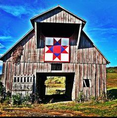 Barn quilt, Cannon County, TN