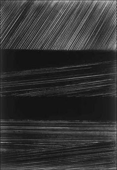 "Mi favorita de Pierre Soulages... ""Painting is a play of opacities and transparencies"". ¡Genio!"