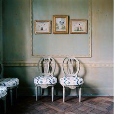 pretty Gustavian chairs