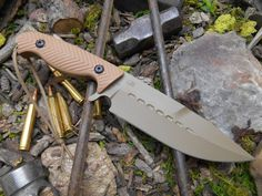 Behring Technical F-1. Perfect all around utility, hunting and survival knife!!!