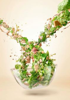Maxima salad by Gintarė Vadeikytė, via Behance