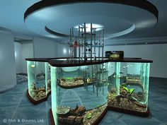 unique fish tanks | Unusual Aquariums
