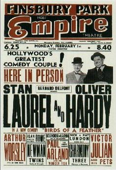 Stan Laurel Oliver Hardy, Laurel Und Hardy, Concert Posters, Theatre Posters, Pekinese, Sound Film, Comedy Duos, Great Comedies, Silent Film