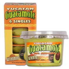 See 28 reviews on Yucatan Guacamoles in : Not only do I love this brand of guacamole but my 1,3, and 4 year old love it too,  and the tare apart individual packs are perfect for them!