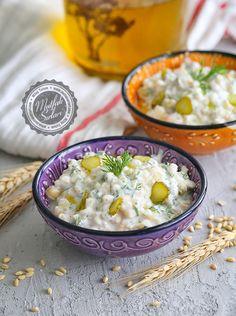 Yoğurtlu Buğday Salatası – Mutfak Sırları – Pratik Yemek Tarifleri Appetizer Salads, Appetizers, Tulum, Cheeseburger Chowder, Tart, Healthy Living, Food And Drink, Soup, Rice