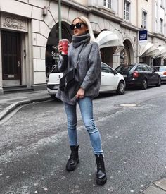 Modetrends Sommer Das sind die Fashion Must-haves Page 62 of 367 Mode Fashion # Casual Outfits invierno jeans Summer Fashion Trends, Autumn Fashion Casual, Autumn Winter Fashion, Casual Fall, Autumn Style, Summer Trends, Fashion Ideas, Fall Fashion 2018, Autumn Look