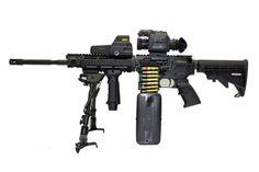 Valkyrie Armament Belt-fed AR-15 rifle conversion