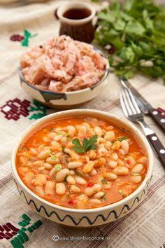 Lebanese Recipes, Raw Vegan Recipes, Vegetarian Recipes, European Dishes, Romanian Food, Romanian Recipes, Good Food, Yummy Food, Bean Recipes