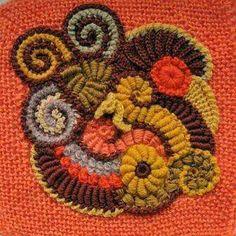 223 Besten Freeform Häkel Bilder Auf Pinterest Crochet Flowers
