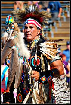 Native American at Pow Wow by jdcow, via Flickr