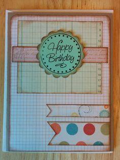 Happy Birthday Vintage Whimsy Card by Cindysnoopy on Etsy, $3.50