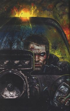 Mad Max: Fury Road by Simon Bisley *